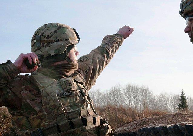 Americké vojáci v Estonsku