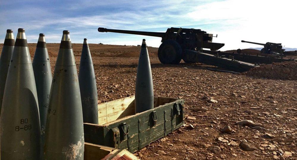 Zbraně v syrské provincii Homs