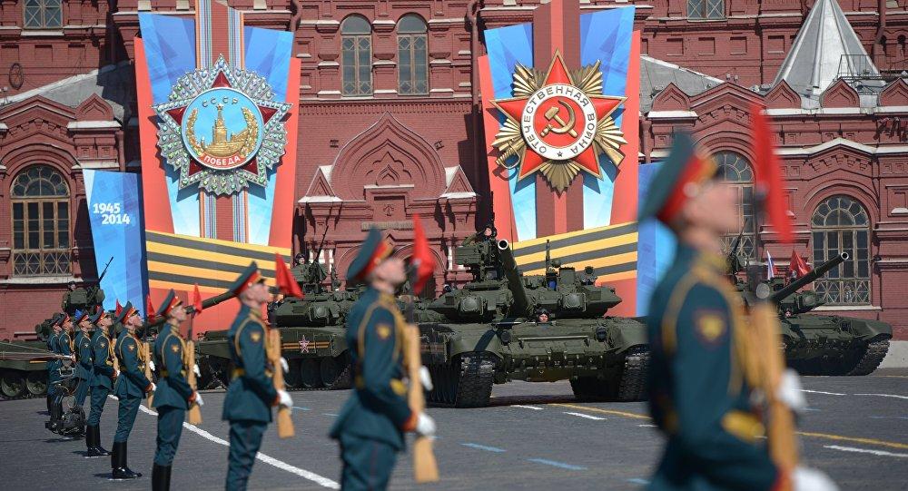 Přehlídka vítětszví v Moskvě