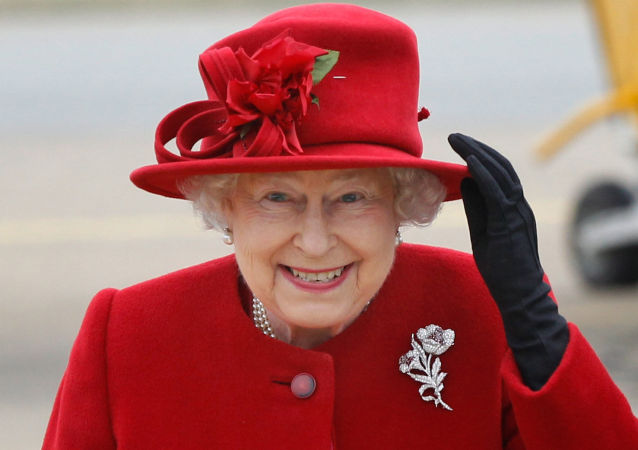 Královna Velké Británie Alžběta II.