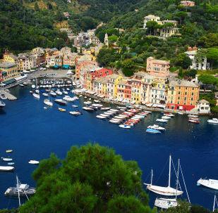 Pohled na Ligurii