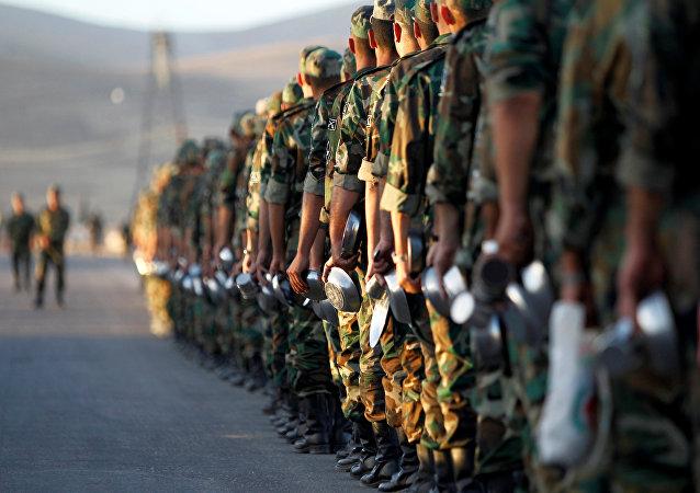 Rekruti syrské armády