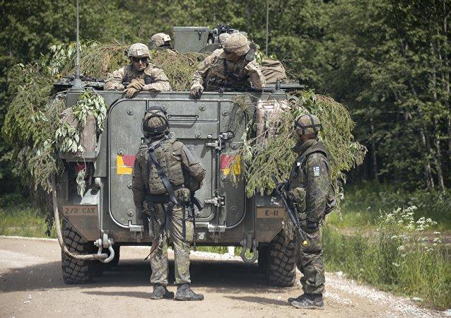 Cničení NATO Saber Strike 2016 v Estonsku