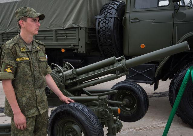 Automatický minomet Vasiljok ráže 82 mm. Ilustrační foto