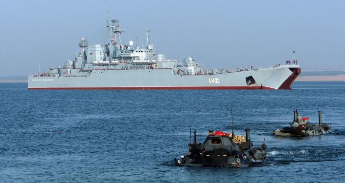 Vojenská cvičení ukrajinského a amerického loďstva Sea Breeze