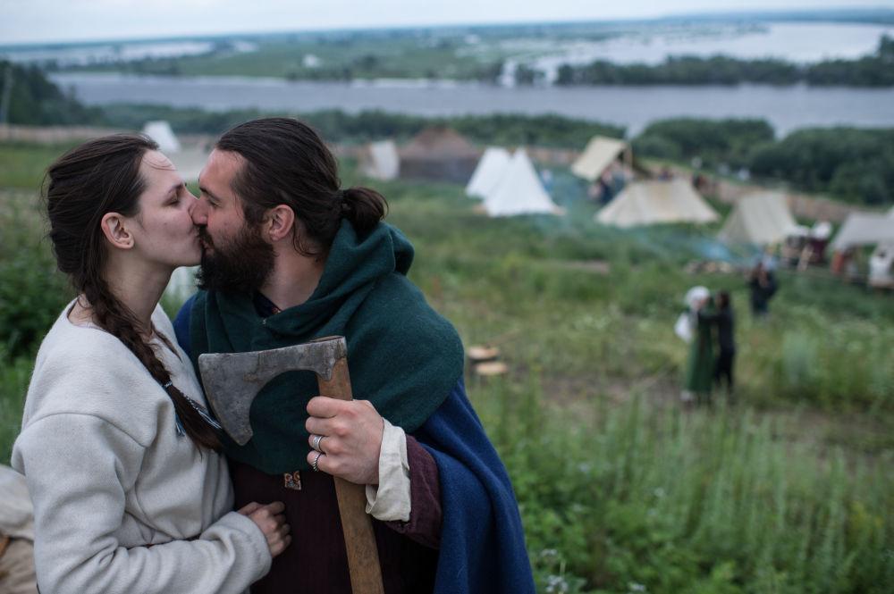 Středověká Rus: festival Abalacké pole