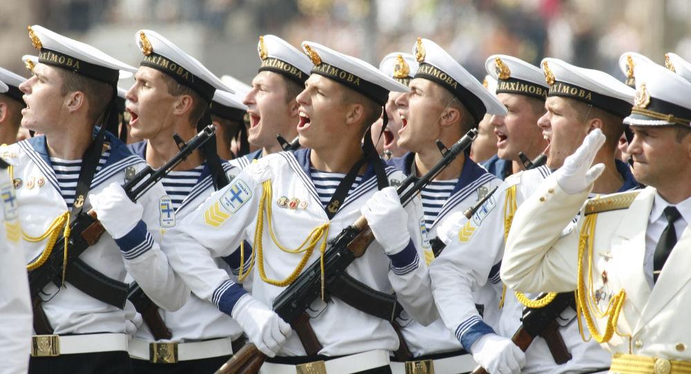 Ukrajinští námořnici. Archivní foto