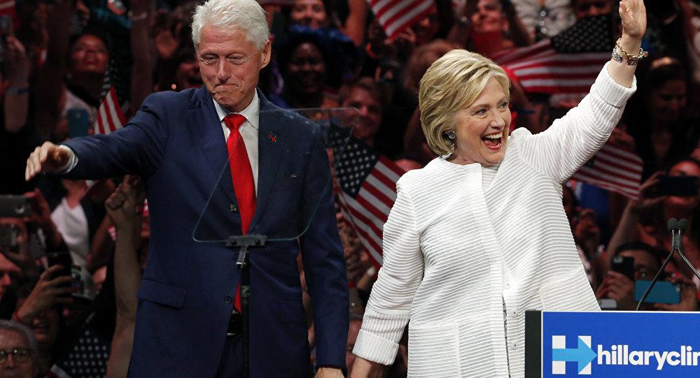 Bill Clinton a Hillary Clintonová