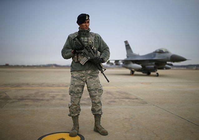 Americký voják v Jižní Koreji