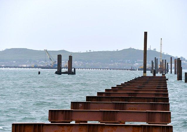 Stavba Kerčského mostu