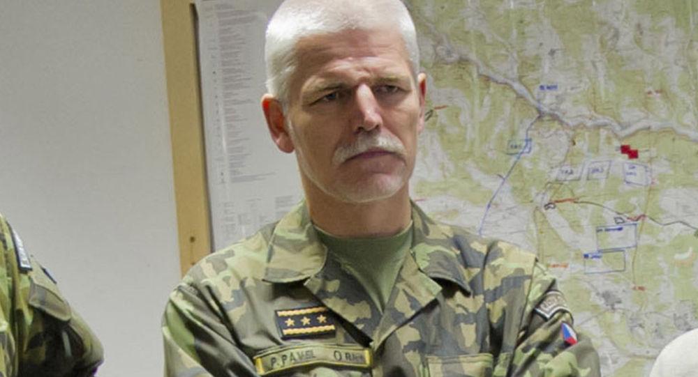 Šéf vojenského výboru NATO generál Petr Pavel
