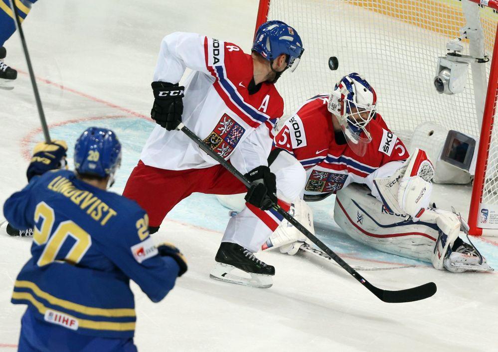 Čeští hokejisté na MS 2015