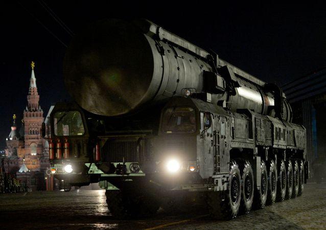 Mezikontinentální balistická raketa Jars.