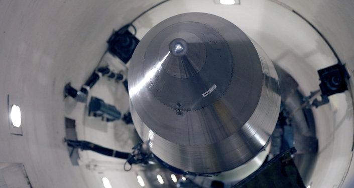 Jaderná raketa. Ilustrační foto