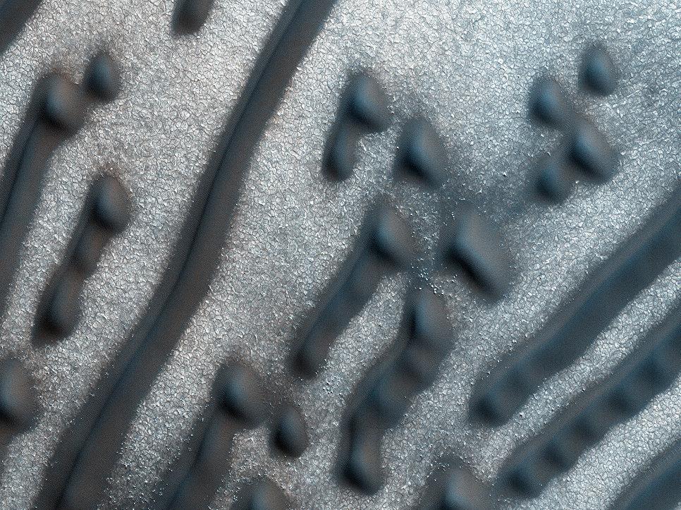 """Na Marsu našli """"poselství"""" v morseovce"""