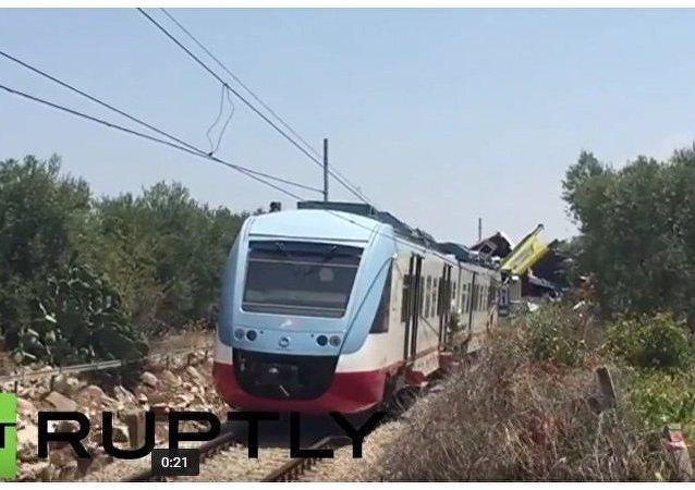 Na jihu Itálie se srazily dva vlaky
