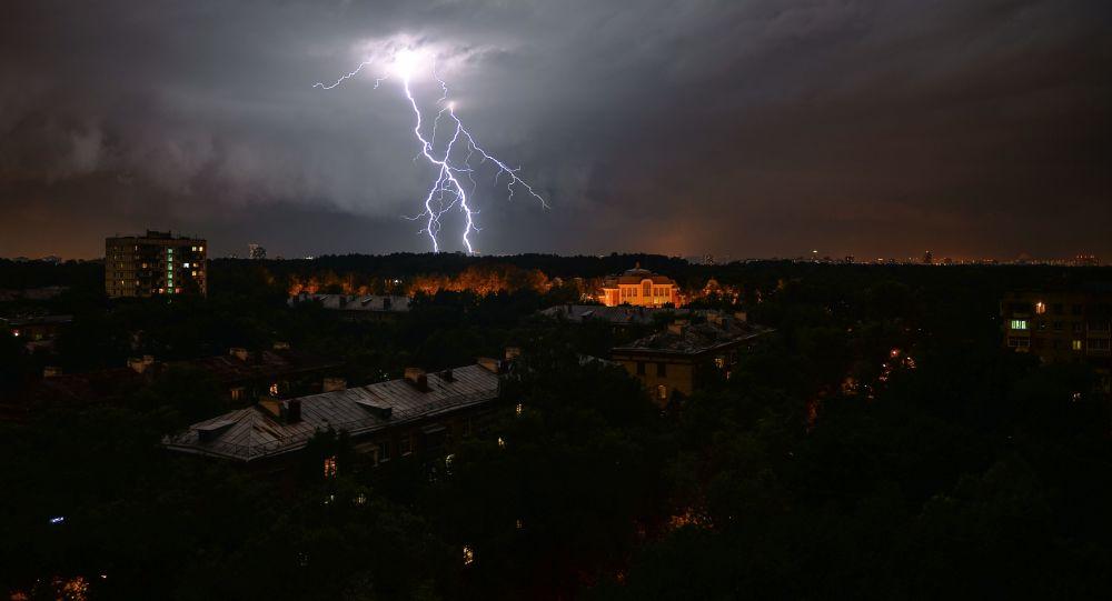 Bouřka v Moskvě