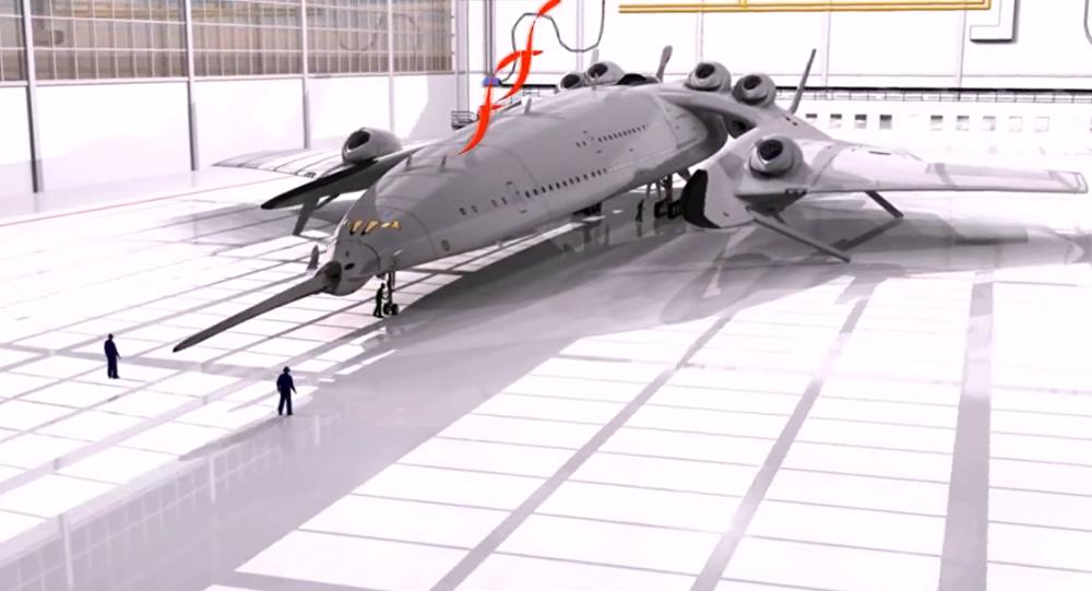 Bylo anoncováno nadzvukové letadlo s jaderným motorem