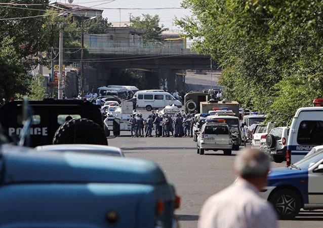 Situace v Jerevanu