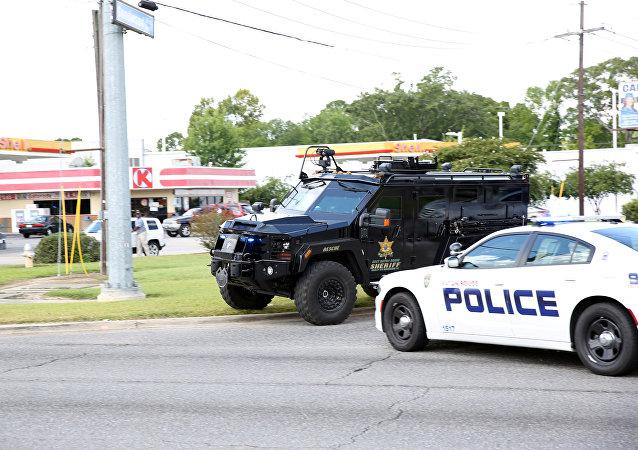Situace ve městě Baton Rouge, Louisiana