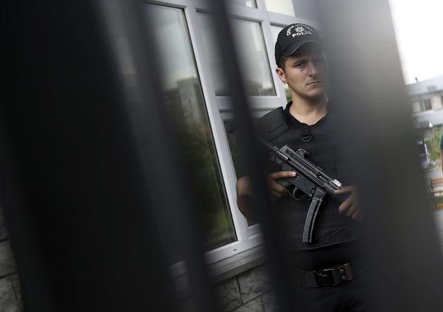 Policista v Istanbulu
