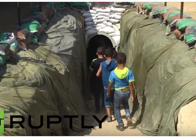 Palestina: vojenský tunel Hamásu se poprvé otevřel pro veřejnost