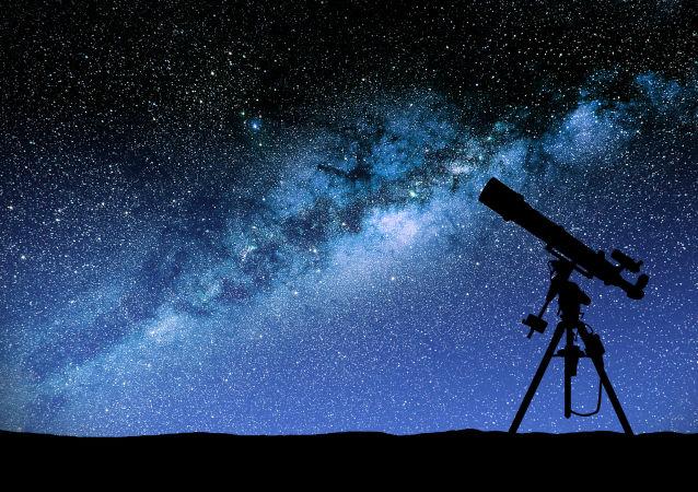 Teleskop. Ilustrační foto