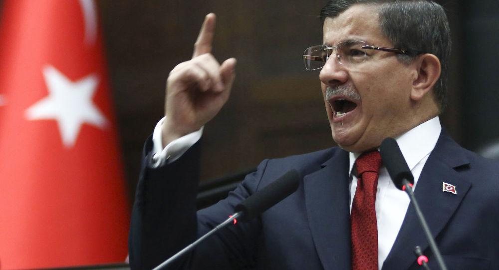 Bývalý turecký premiér Ahmet Davutoğlu