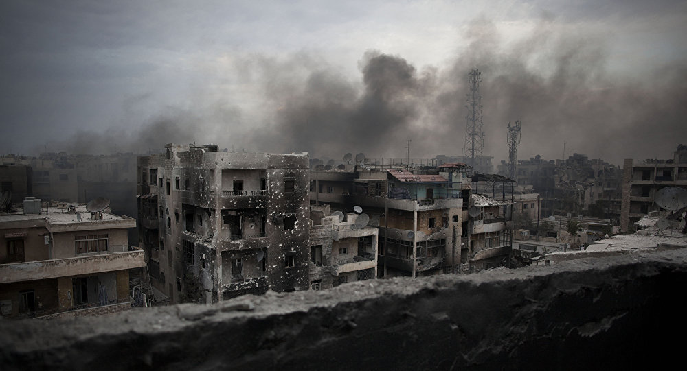 Aleppo, Sýrie (ilustrační foto)