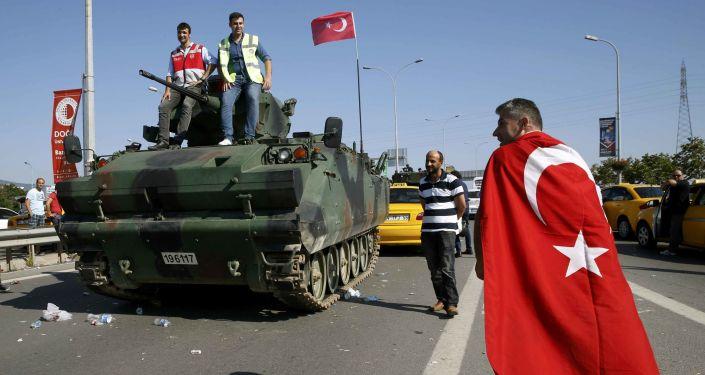 Situace v Turecko po pokusu o převrat