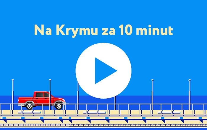 Na Krymu za deset minut