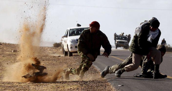 Bombardování v Libyi