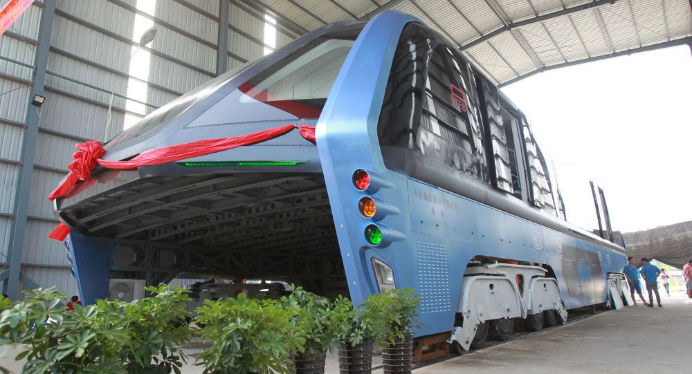 Čínský autobus TEB