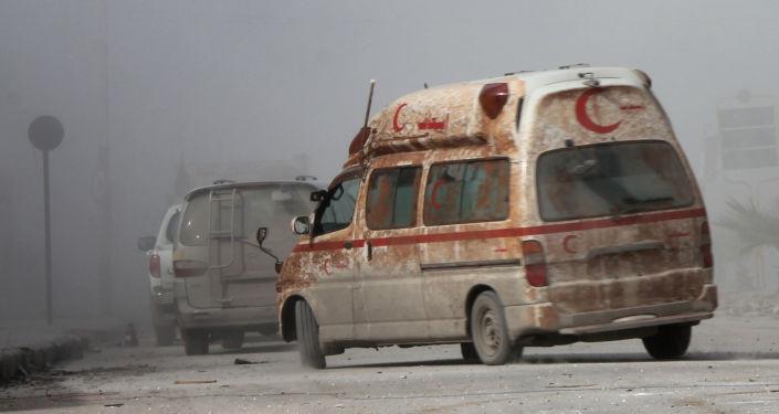 Sanitka v Aleppu
