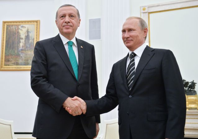 Tayyip Erdogan a Vladimir Putin