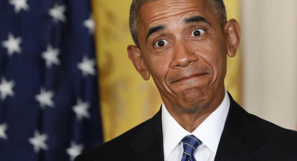 Prezident USA Barack Obama na tiskové konferenci v Bílém domě