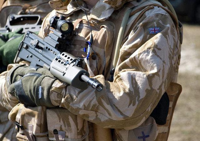 Britský voják