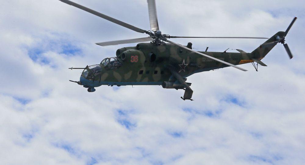 Vrtulník Mi-35