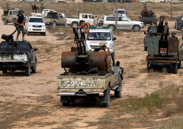 Libyjští vojáci. Archivní foto