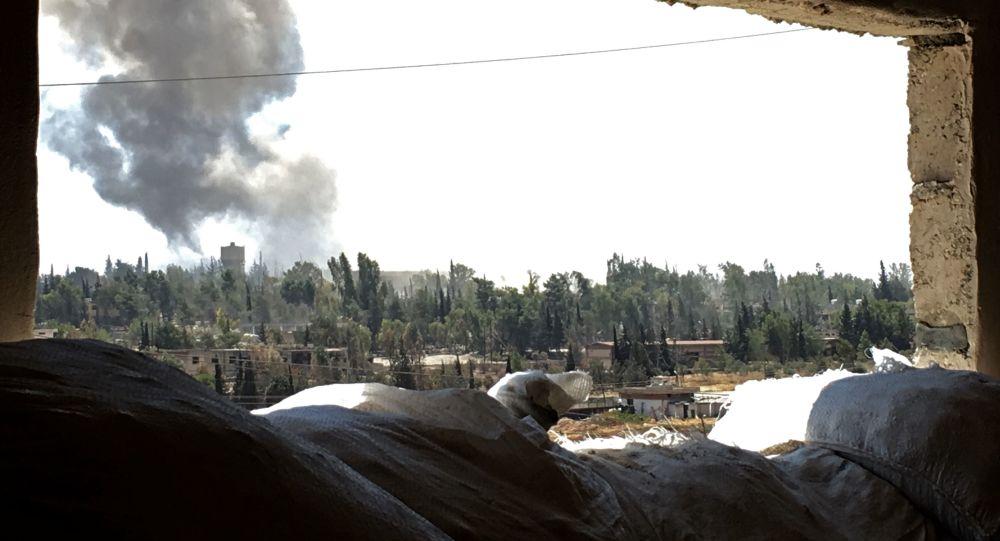 Syrské letectvo intenzivně bombarduje pozice bojovníků