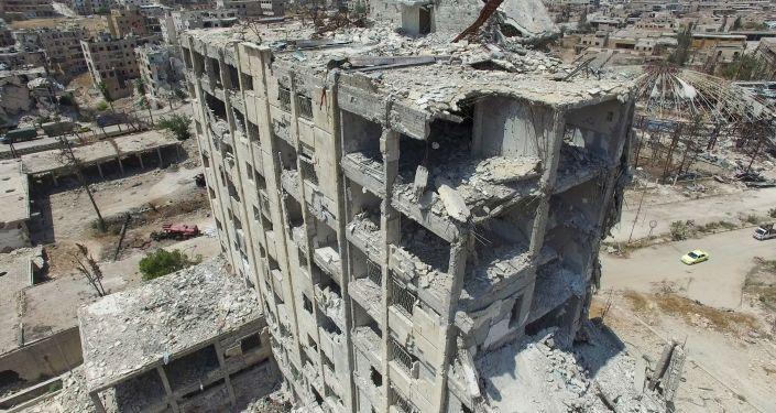 Budova v Aleppu