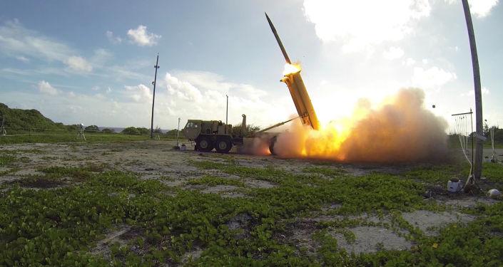Systém THAAD (Terminal High Altitude Area Defense)