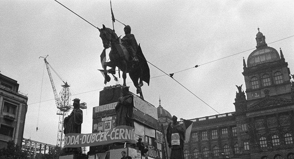 Mítink na Václavském náměstí