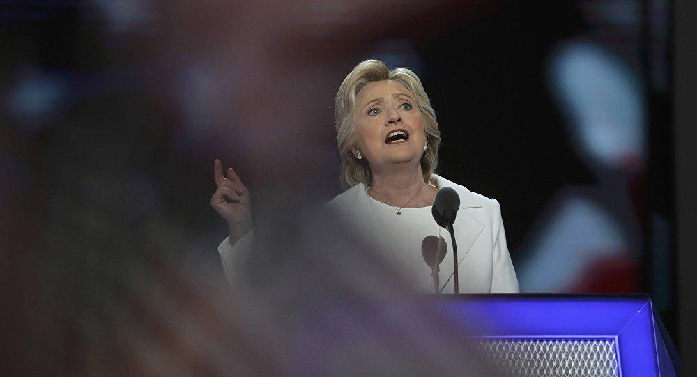 Kandidátka na prezidenta USA Hillary Clintonová