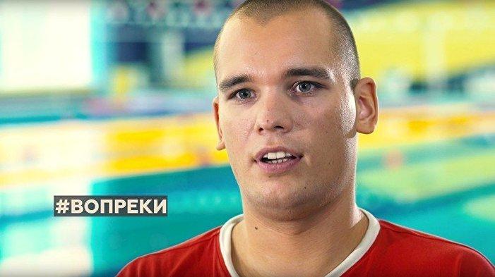 Dmitrij Kokarev, plavání