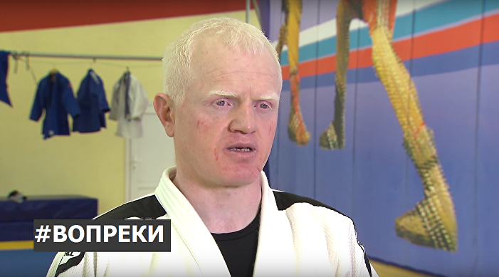 Islam Ibragimov, starší trenér ženského paraolympijského týmu judo.