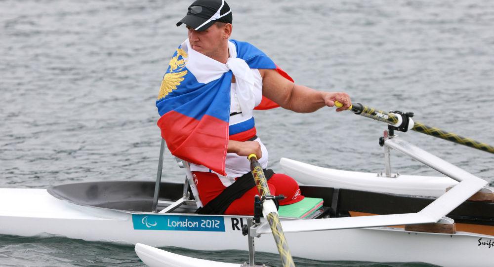 Ruský sportovec Alexej Čuvašev
