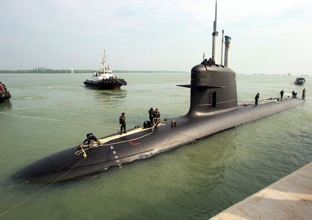 Francouzská ponorka třídy Scorpene