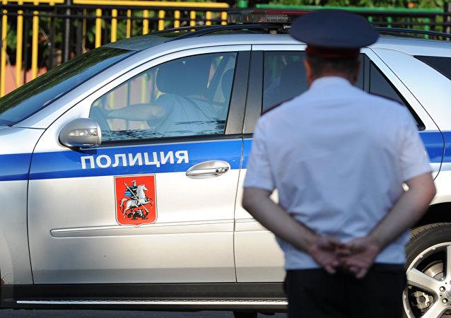 Policista v Moskvě