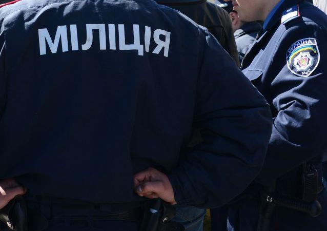 Ukrajinská policie. Ilustrační foto